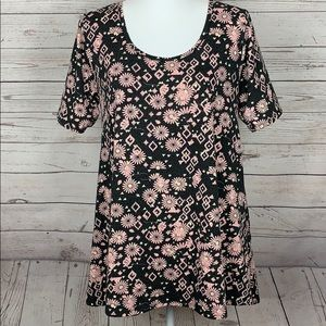LulaRoe Floral Print Dress Top